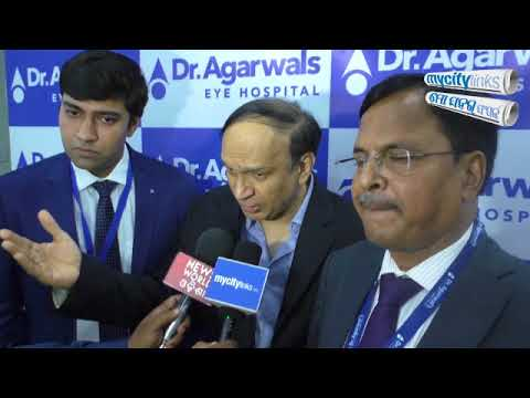 Inauguration of Dr. Agarwal's Eye Hospital in Bhubaneswar