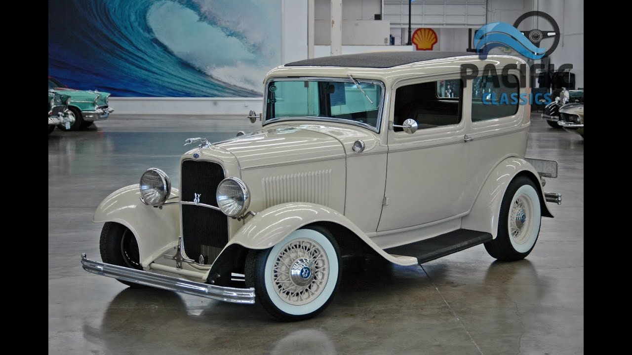 1932 ford 2 door sedan youtube for 1932 ford 2 door coupe
