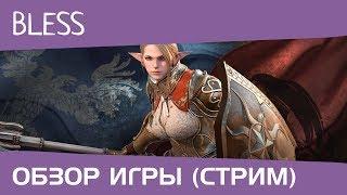 Bless ЗБТ1 Paladin (стрим, обзор игры)
