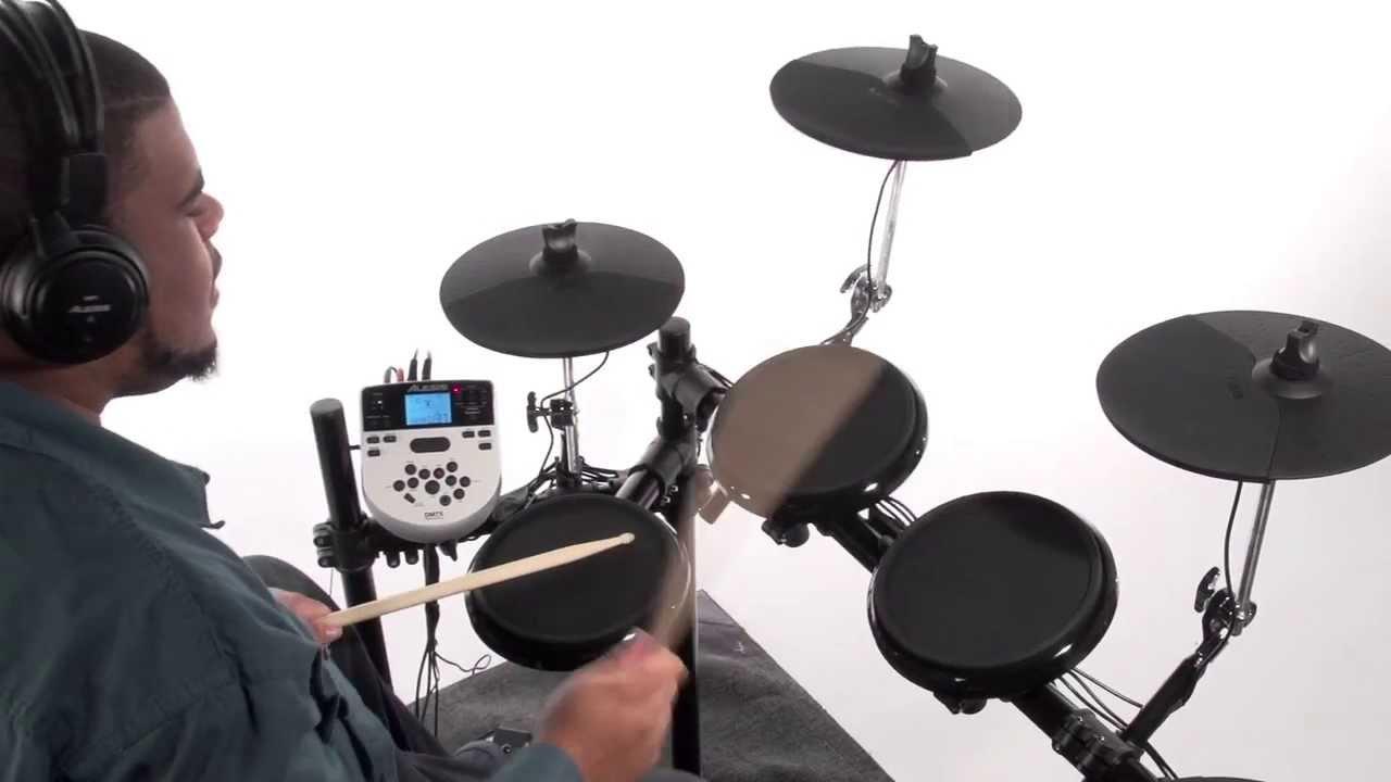 Alesis Dm7x Kit Advanced Electronic Drum Kit Youtube