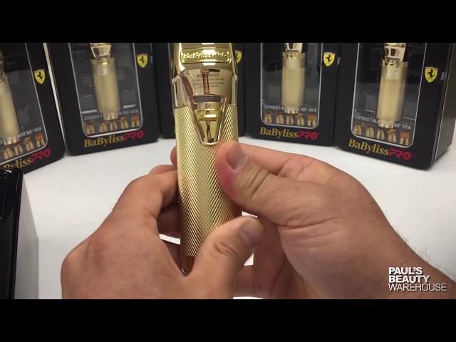 Unboxing Babyliss fx787g gold trimmer a/k/a skeleton trimmer