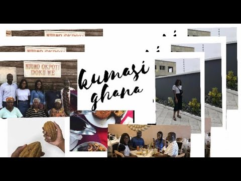 KUMASI VLOG 2018 (GHANA BI 3D3)