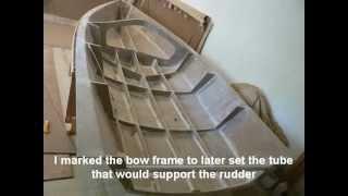 SULA. Building a sailboat in foam sandwich