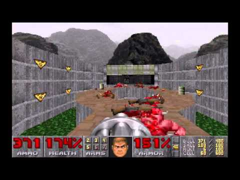 The Ultimate DOOM - E1M3: Toxin Refinery (1994) [MS-DOS] |