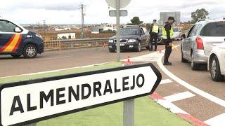Entra en vigor el aislamiento perimetral de Almendralejo (Badajoz)