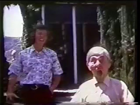 Moe Howard at Home (Saturday July 28th, 1973)