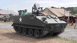 Restored m114 Command and Reconnaissance Carrier detail walk around video