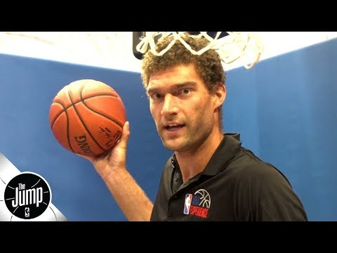 Brook Lopez: I wanted to scream like Kevin Garnett after dunking on twin Robin Lopez | The Jump