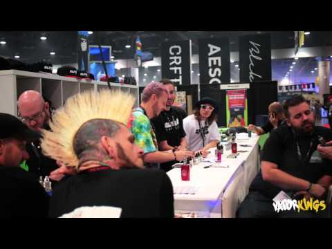 Vape Summit 2015 at the Las Vegas Convention Center