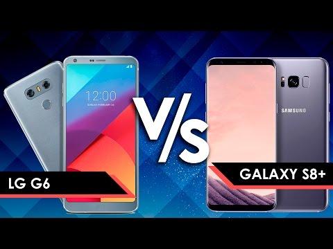 LG G6 VS SAMSUNG GALAXY S8+ | COMPARATIVA