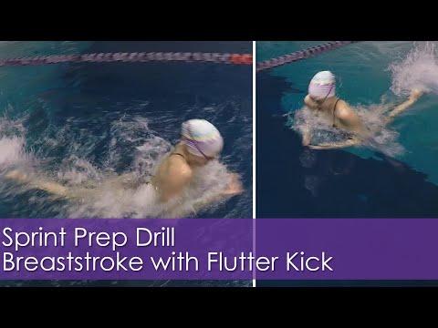 Sprint Prep | Breaststroke Flutter Drill