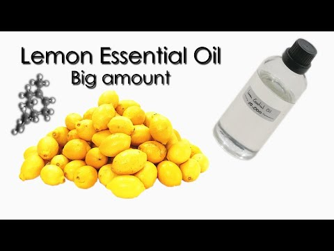 How To Make Lemon Essential Oil 🍋💦⚗️ 10K Subscribers Special!!!