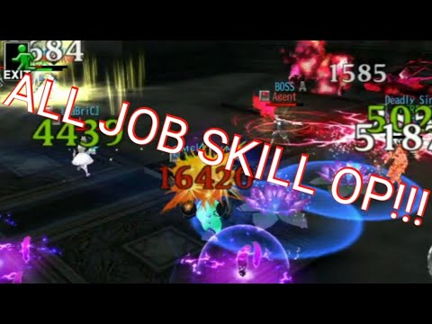 AVABEL ONLINE : ALL JOB SKILL OP!!! / TDM