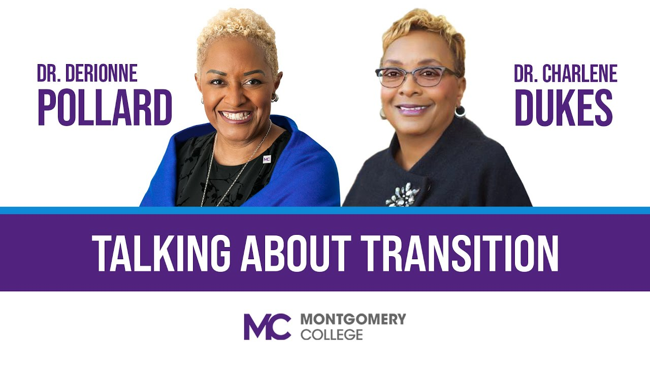 Talking about Transition: Departing MC President Dr. Pollard Talks with Incoming Interim President Dr. Dukes