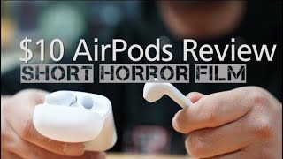 $10 AirPods Review 공포의 에어팟 l Short Horror Film ㅣ 단편 공포