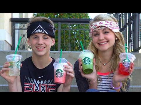 Thumbnail: The Starbucks Challenge! (MattyB vs Ivey) ... And Justin?
