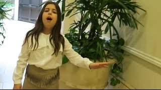 "Sophia Grace - Sings ""Mariah Carey"" ALL I WANT FOR CHRISTMAS IS YOU"