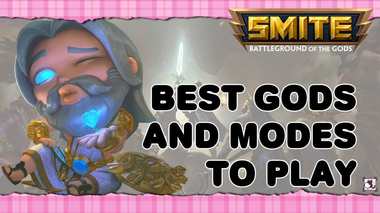 Smite God Tier List 2020.Smite Guide For Beginners 2020 Best Smite Gods Fiyahkitteh
