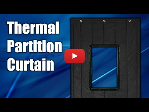 Arrowzoom Unboxing Thermal Curtain Windproof Partition Thick Insulated Divider Warehouse Door Sound