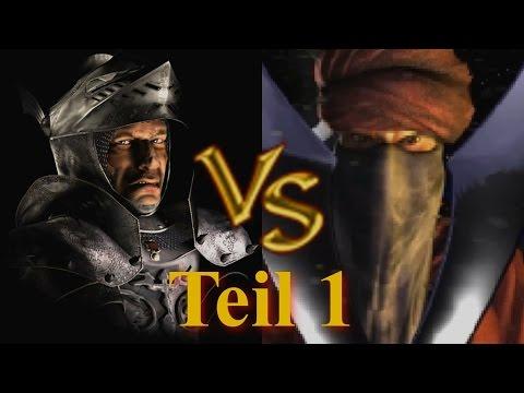 Wolf vs Wazir - Teil 1 - Stronghold Crusader KI Kämpfe (German)