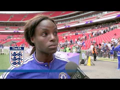 Chelsea Ladies on winning the Women's FA Cup at Wembley  FATV