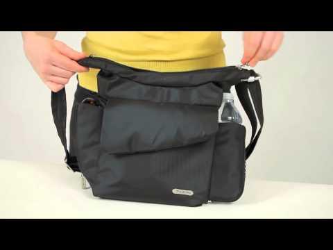 Travelon Classic RFID Blocking Anti-Theft Messenger Bag 42242