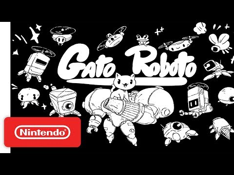 Gato Roboto - Launch Trailer - Nintendo Switch