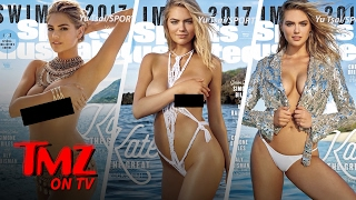Kate Upton Gets Not Just One But THREE SI Swimsuit Edition Covers | TMZ TV