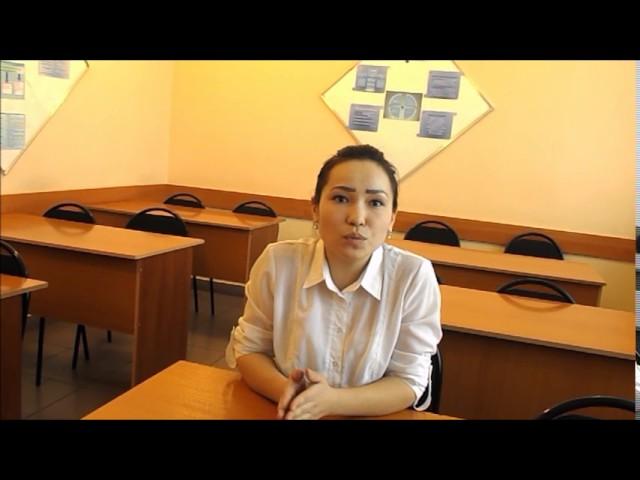 Изображение предпросмотра прочтения – АйзатҚаниғұмарова читает произведение «Послушайте! (Послушайте! Ведь, если звезды зажигают…)» В.В.Маяковского