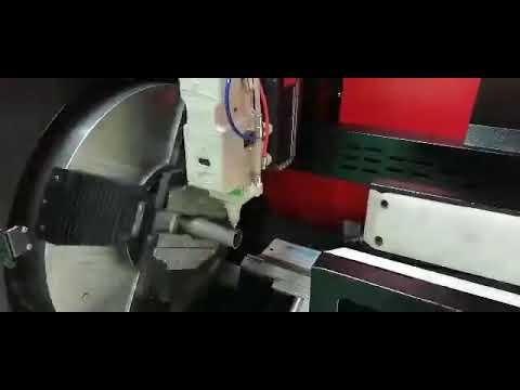 F6020GE - Baisheng Laser cortando Tubo de alumínio