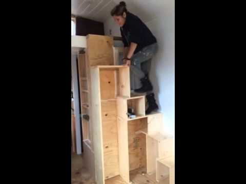 Tiny House Stairs - Youtube