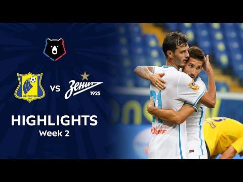 Rostov Zenit Petersburg Goals And Highlights