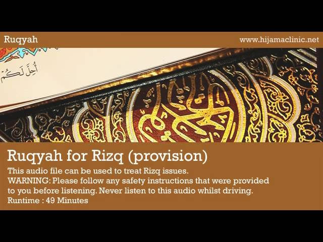 Ruqyah Treatment for Rizq Travel Video
