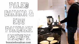 Banana & Egg Pancakes Recipe