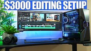 My $3000 Editing Setup Tour!