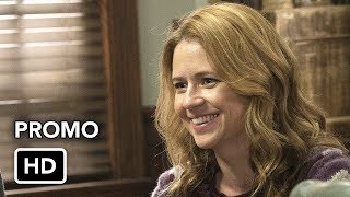 """Splitting Up Together 1x06 Promo """"Letting Ghost"""" (HD) Jenna Fischer comedy series"""