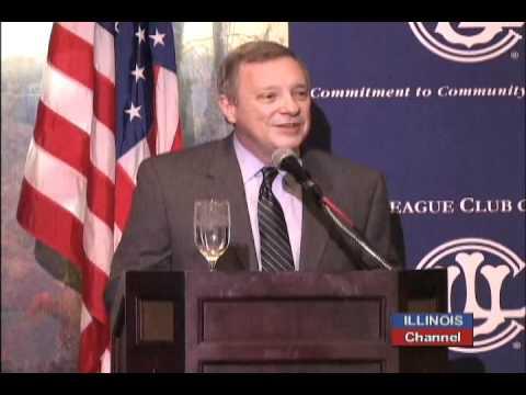 Dick Durbin Telling Obama to Seek Presidency