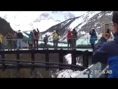 Glacier Skywalk in Jasper National Park, Alberta, Canada
