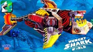 Hungry Shark World Update - New PROTO-ROBO Shark Skin Unlocked | Android Gameplay HD