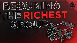 BECOMING THE RICHEST GROUP ON THE SERVER.. (2/2)