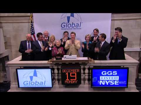 Global Geophysical Services at the NYSE rings the NYSE Opening Bell
