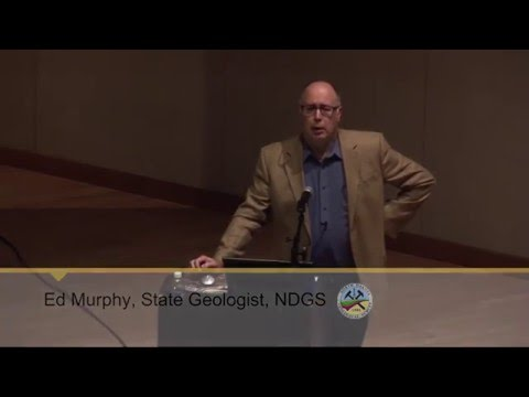 Geology of North Dakota, Williston Formation, &  Meteors, Ed Murphy
