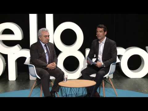 Interview with Fatih Birol, Executive Director at IEA - Hello Tomorrow Global Summit 2016