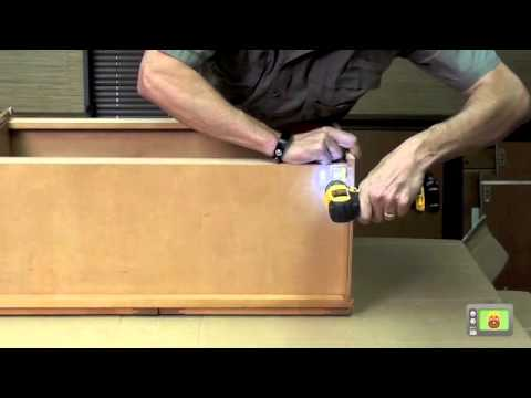 How to Assemble Wall Cabinets from Kitchen Cabinet Kings - YouTube