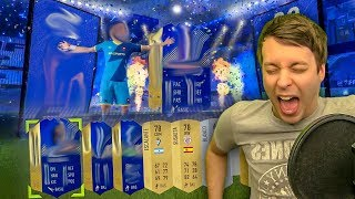 MY LUCKIEST TOTS PACK OPENING SO FAR!!! - FIFA 18 ULTIMATE TEAM PACK OPENING / Team Of The Season
