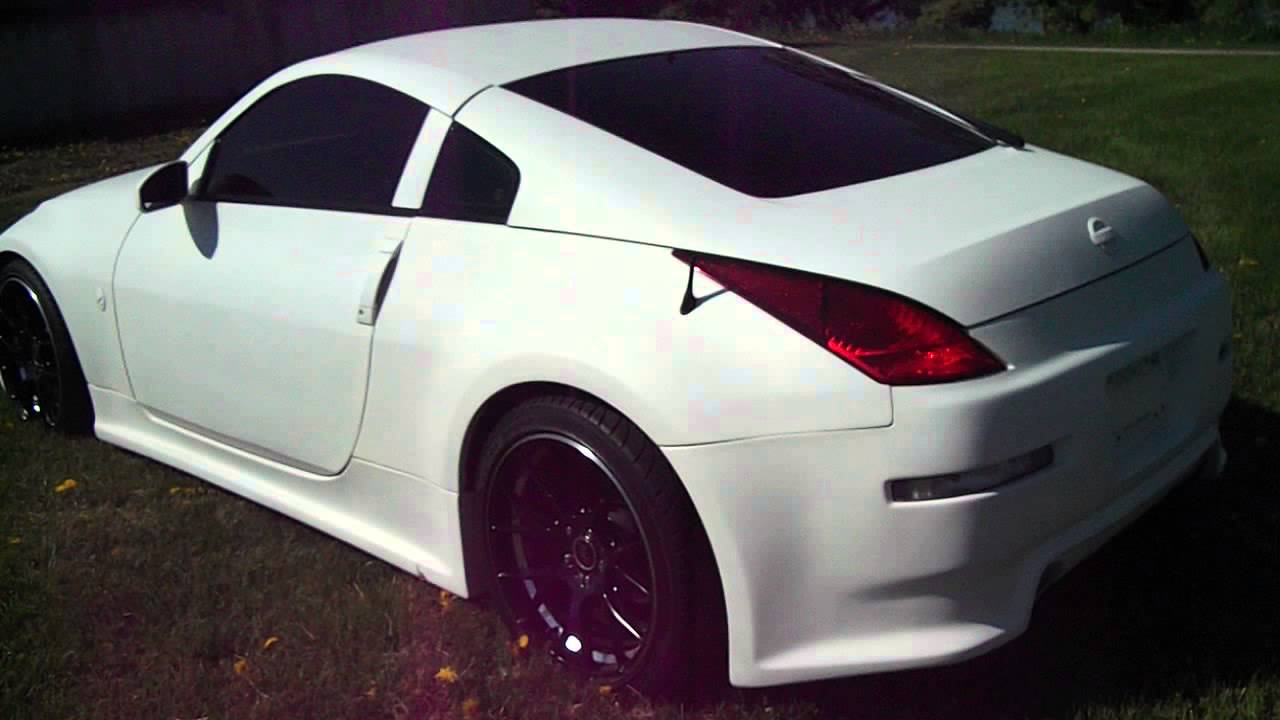 1 of a kind custom nissan 350z with flat white paintand gucci 1 of a kind custom nissan 350z with flat white paintand gucci interiorazy youtube vanachro Images