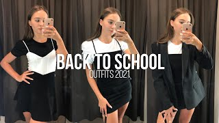 BACK TO SCHOOL 2021 СТИЛЬНАЯ ОДЕЖДА К ШКОЛЕ ШОППИНГ бэк ту скул Bershka Zara