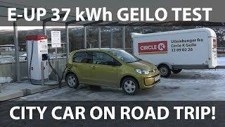 VW e-Up 37 kWh Geilo test