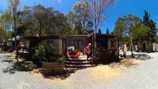 Case Mobili - Camping Flumendosa di Santa Margherita a Pula, Cagliari, in Sardegna - Video 360