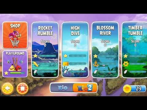 Angry Birds Rio - Episode1 - Android walkthrough